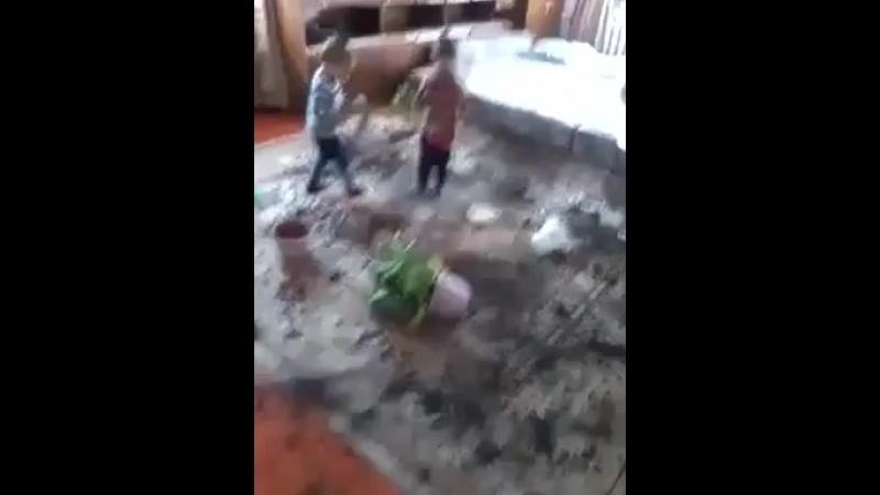 дети цветоводы