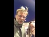 Jurgen Klopp to young Everton fan