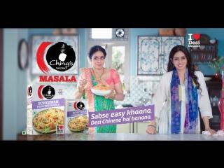Sridevi's Double Role Dhamaka  Ching's Secret Masalas  Schezwan Fried Rice  Gujarati