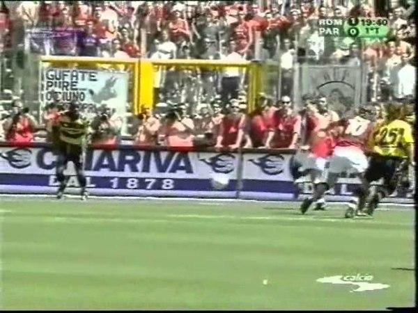 AS Roma 3-1 Parma - Campionato 2000/01