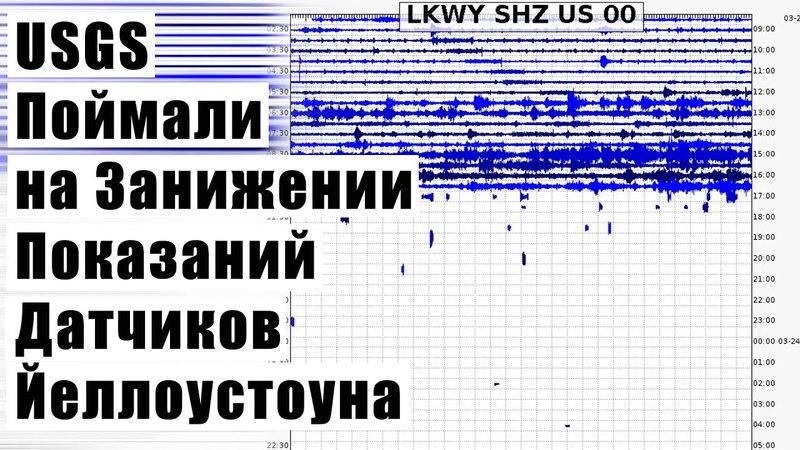 USGS Поймали на Занижении Показаний Датчиков Йеллоустоуна