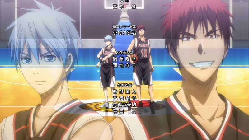 Kuroko no Basuke 3 ED3 Final ][ Баскетбол Куроко Эндинг / Ending 3 Финальный [720p]