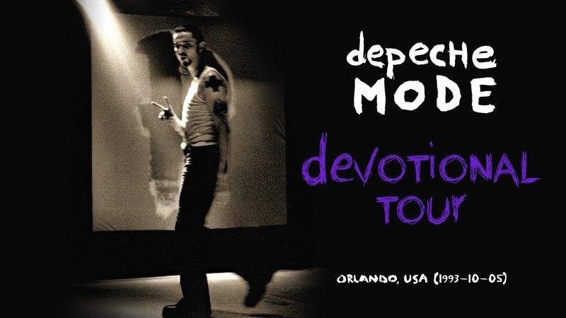 Depeche Mode - Devotional Tour (1993, Orlando, USA)(1993-10-05)