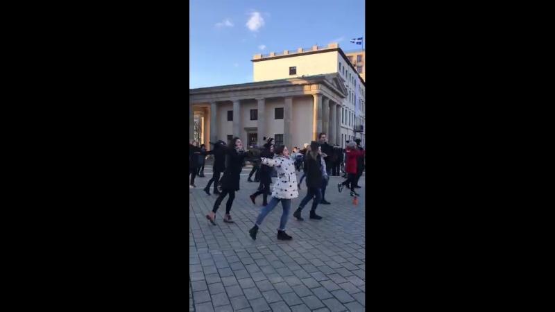24.02.2018 Я-Актер.Берлин. Уличные танцы.