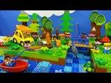 Строим из Lego Duplo, Build and Play toys Lego, Лего Дупло - picnic by the river 2