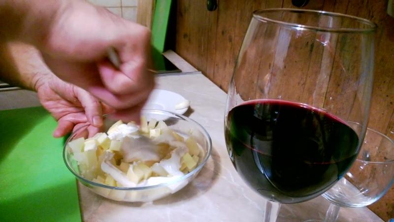 Кулинарный блог ПРОСТАЯ ЕДА: салат изыскннный аперитив