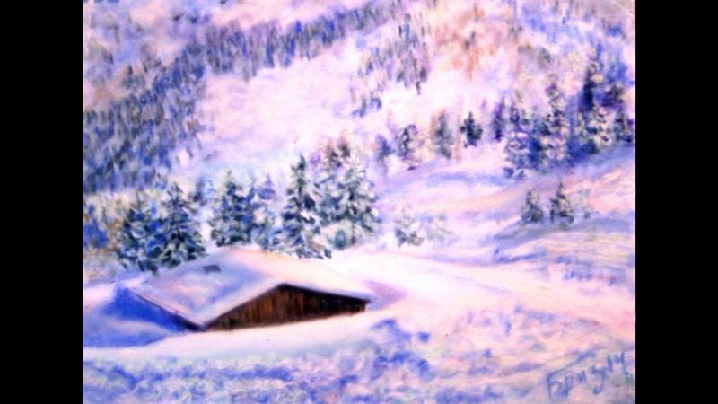 Очарование Зимы в живописи Дианы Бриз
