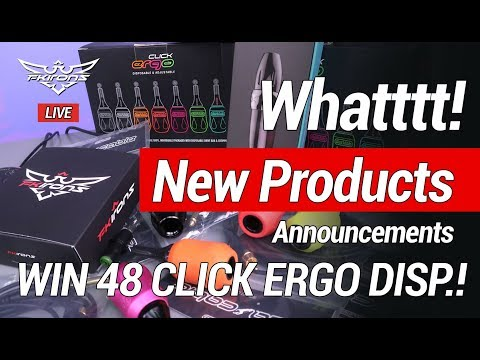 So many product announcements Win 48 Click Ergo Disp!