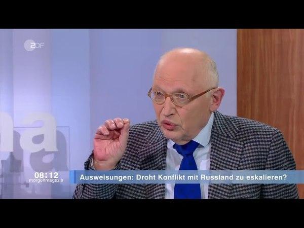 Fall Skripal - Westen hetzt ohne Beweise gegen Russland! - Günter Verheugen (ex-EU-Kommissar)