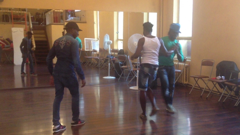 Семба КабралФредАладже с Викой в Ritmo Dance