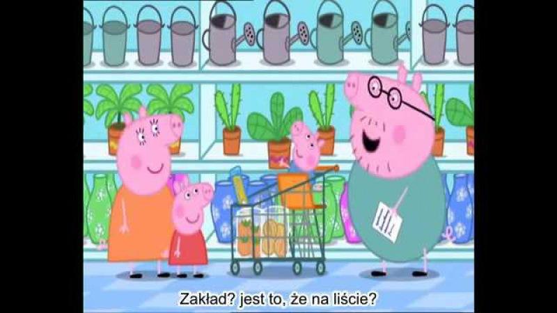 Swinka Peppa Zakupy napisy PL