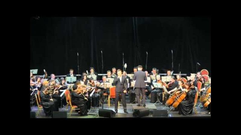 Тёмная ночь Владислав Косарев и Орловский губернаторский симфонический оркестр