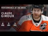 Philadelphia Flyers' Claude Giroux is the NHL Star of the Week: Feb 11, 2018