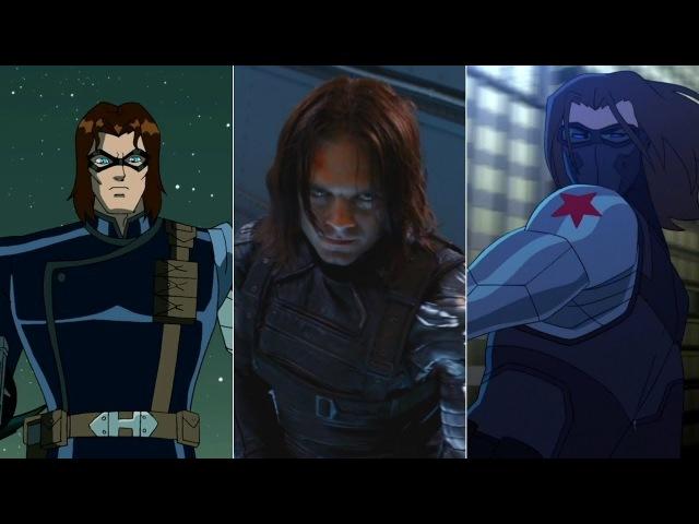 Эволюция Зимнего Солдата (Баки Барнса)Evolution of Winter Soldier (Bucky Barnes)