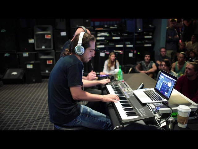 Infected play Sa'eed LIVE at Guitar Center Masterclass