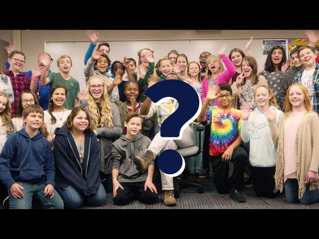 These 7th Graders Were Shocked By A Surprise Visitor | That Moment