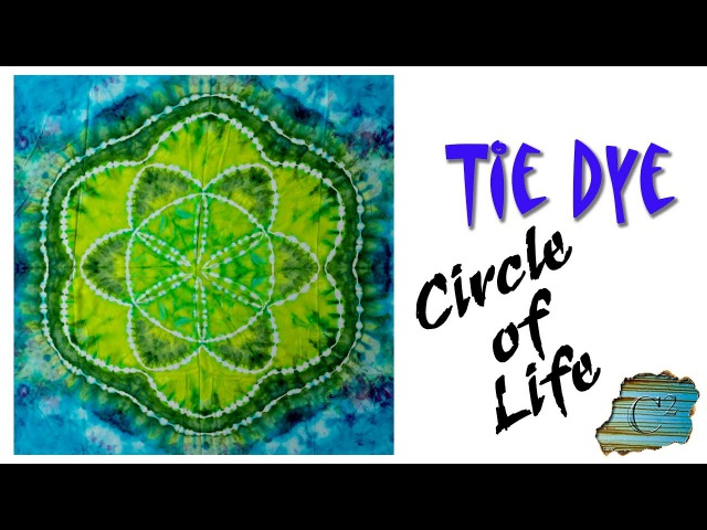 How to Tie Dye: Circle of Life [Ice Dyed]