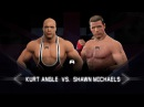WFW NXT Takeover - Kurt Angle vs Shawn Michaels