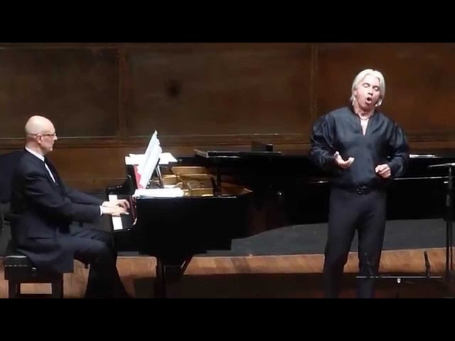 Дмитрий Хворостовский 2012 Мехико /Dmitri Hvorostovsky Encore - Parlami d'amore, Mariú