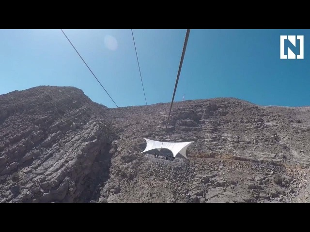 The world's longest zipline We try out the newest UAE adventure
