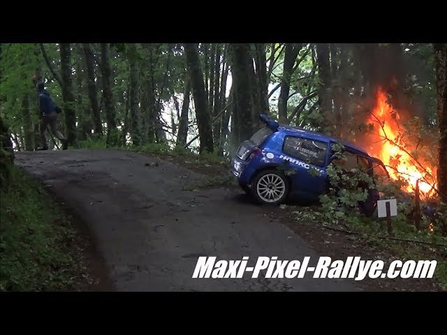 Best-Of Rallyes 2017 (Part 1) - Crashs, Mistakes, Fails, Spins Flat-Out !! [HD]
