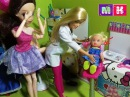 Катя новые сережки. Еви хвастунишка. Барби Школа Девочки играют в Куклы Игрушки