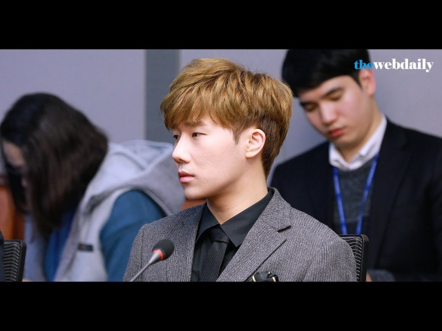 WD영상 인피니트 INFINITE 김성규 홍보대사들의 시크한 리더