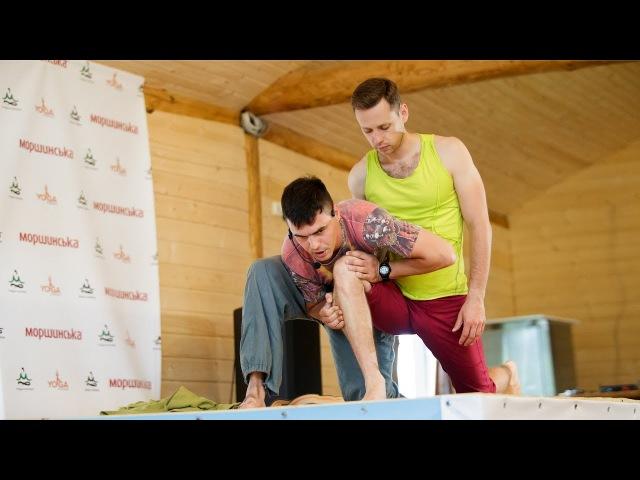 Егор Кулаковский — упражнение для коленей