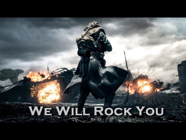 EPIC ROCK   ''We Will Rock You'' by J2 [feat. The Triple Killers]