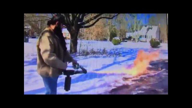 Когда надоело убирать снег лопатой
