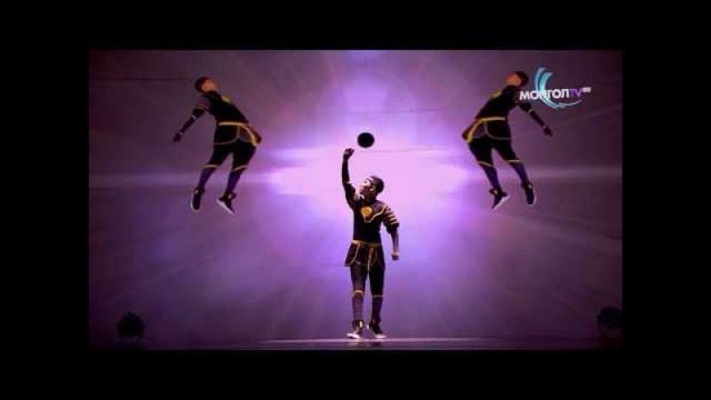 Canion Shijirbat computer animation dance performance | Final | Mongolians Got Talent 2016