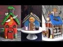 HARRY POTTER, ADDAMS FAMILY, HOCUS POCUS GINGERBREAD HOUSE by HANIELA'S