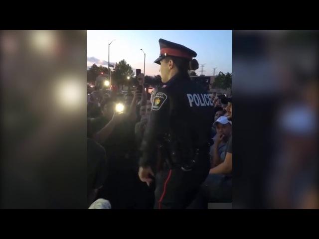 Canadian police Rap | Канадская полиция читает рэп