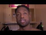 Dwyane Wade Postgame Interview  Knicks vs Cavaliers  October 29, 2017  2017-18 NBA season