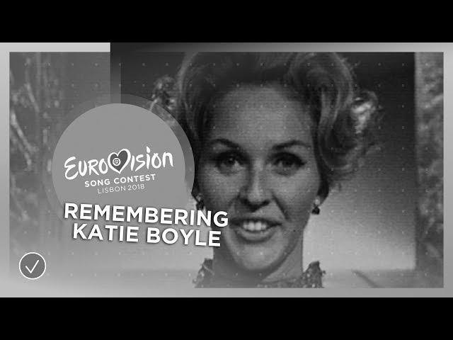 In Memoriam: Katie Boyle, who hosted the Eurovision Song Contest 4 times