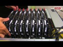 16 x GTX 1080 Ti 4 x E5 2699 V4 1 5TB RAM stack by dual Asus ESC8000 G3 AZPC TV