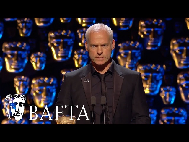 Martin McDonagh wins Original Screenplay   EE BAFTA Film Awards 2018