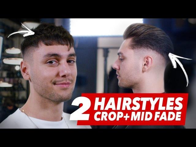 Mid Fade undercut Vs. Crop hairstyle - Best mens haircut ideas - Slikhaar TV By Vilain