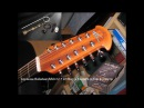 Applause Balladeer 2412 12 string. В акустике и подключении. Unplugged and plugged (OP4 LR Baggs)