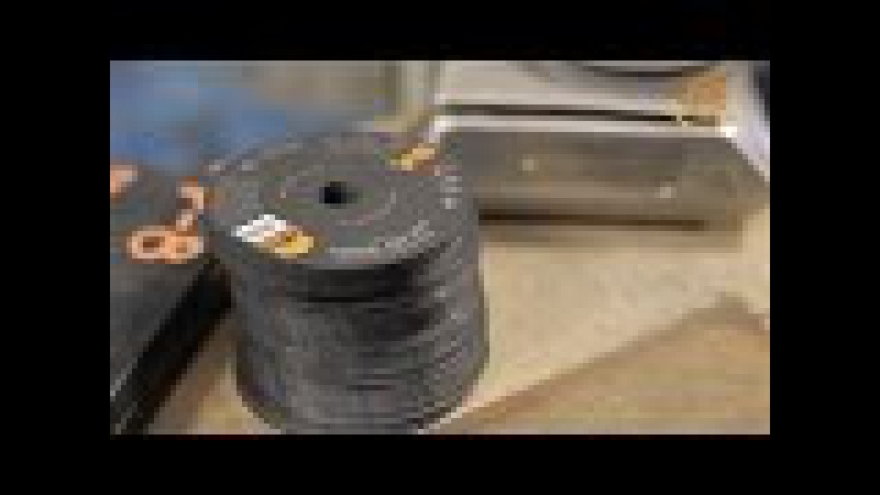 Как делают отрезные диски для болгарки