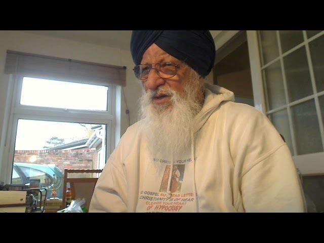 Punjabi - Christ Ram Dass Ji Says the twice-born sealed to serve God, Gurmukh, they sing the praises