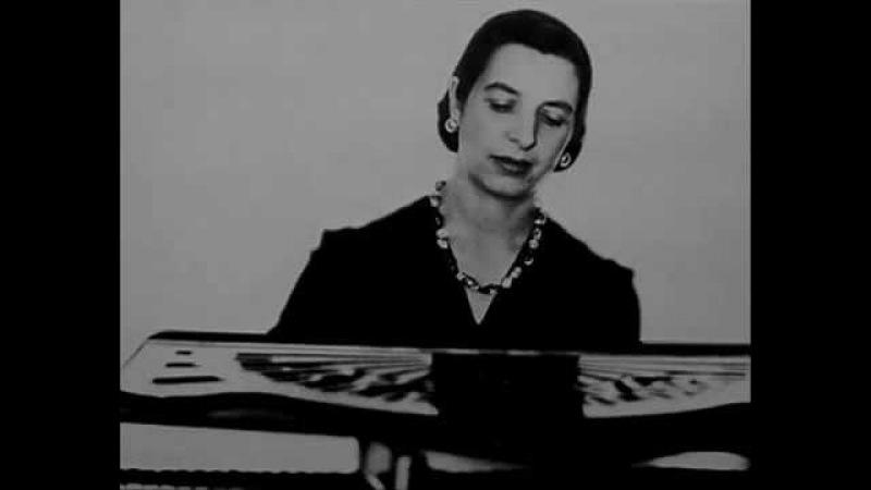 Bach Marcelle Meyer (1947) Partita n°6 en mi mineur BWV 830