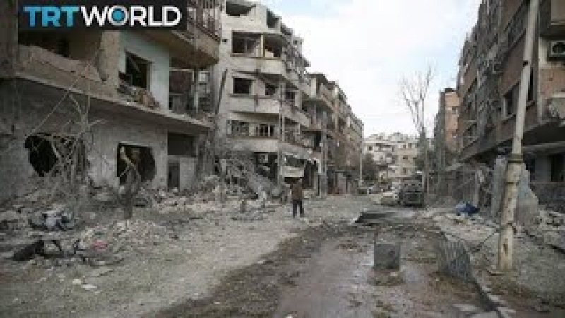 The War in Syria Ceasefire vote delayed as eastern Ghouta hit