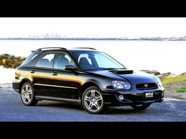Subaru Impreza WRX Wagon AU spec GGA '2002 05