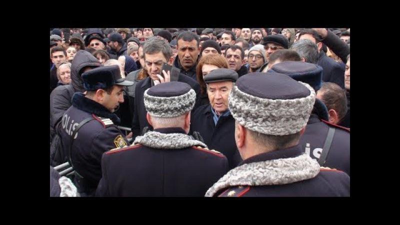 Hakimiyyәtin Milli Şuraya qarşı tәxribat planı (Şəhidlər Xiyabanı 20.01.2018)
