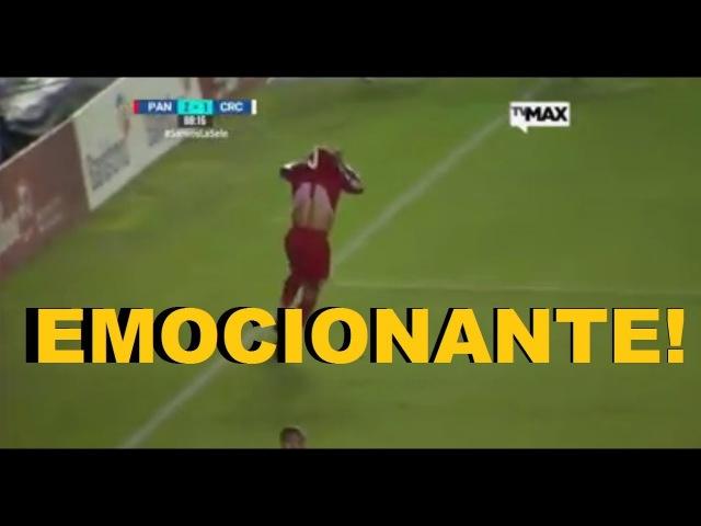 Narrador CHORA com GOL que pôs PANAMÁ na COPA!