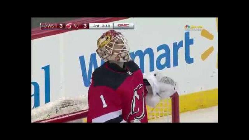 Evgeni Kuznetsov great pass to Connolly's second goal vs Devils (2018)