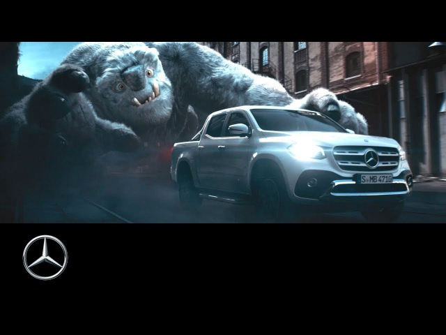"""Follow"". The new Mercedes-Benz X-Class TV-Spot (2017)"