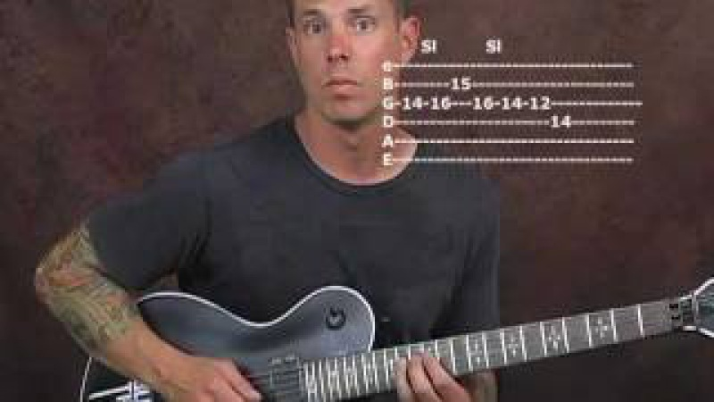 Hybrid picking lead guitar lesson use fingers and pick together for killer licks