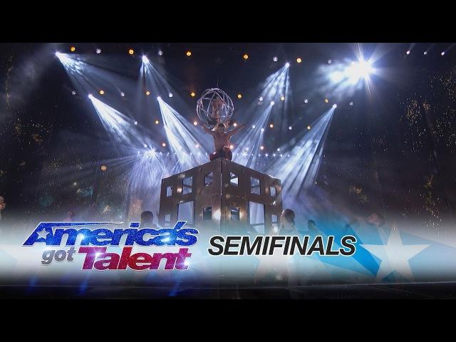 Diavolo: Dance Group Performs On Unbelievable Set Pieces - America's Got Talent 2017